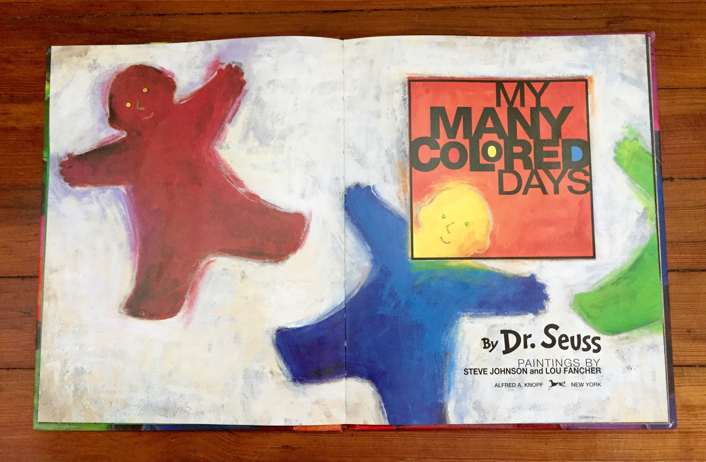 My Many Colored Days – facing the thief